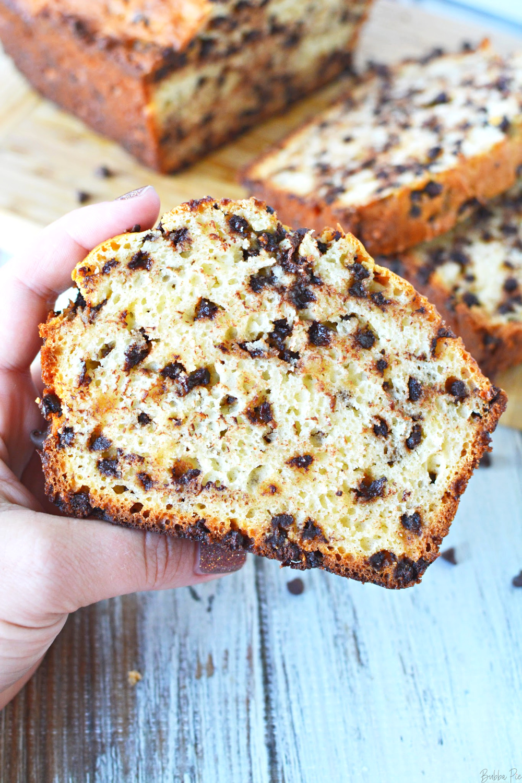 Chocolate Chip Bread makes a delicious breakfast recipe!