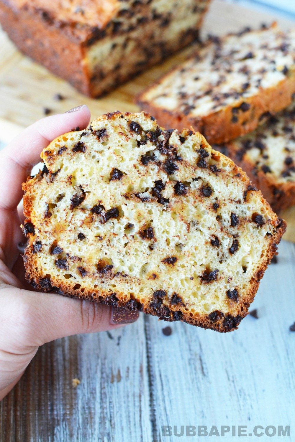 chocolate chip quick bread