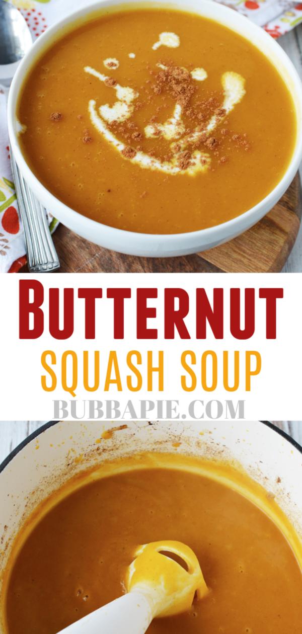 Best Butternut Squash Soup
