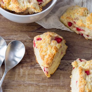 This is Best Strawberry Scones ever. Easy to make and delicious to eat