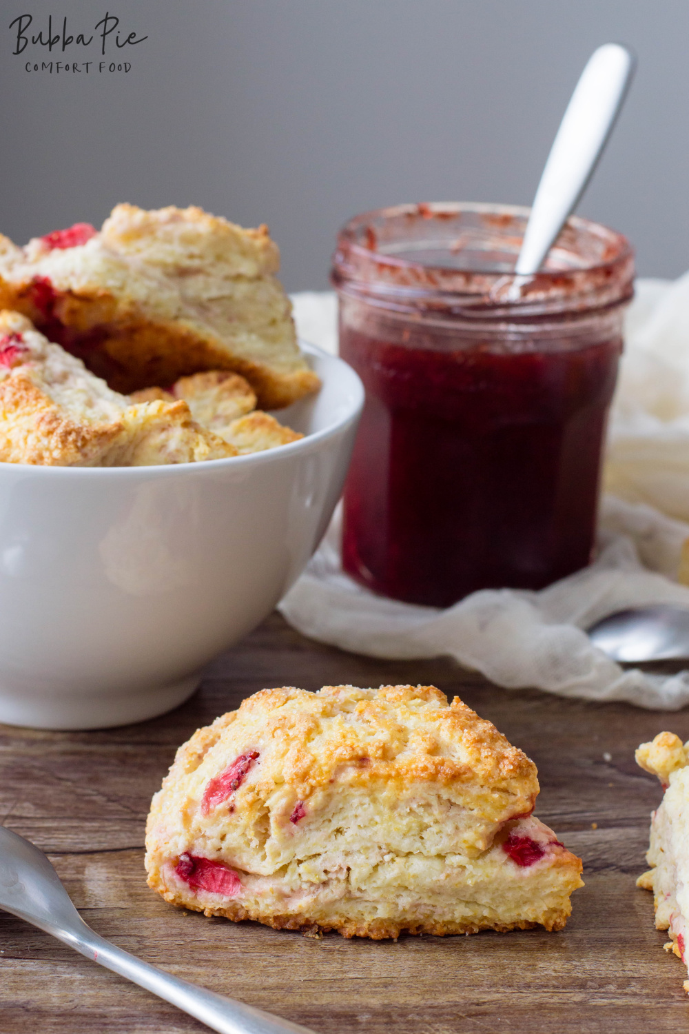 Strawberry Scones are great for brunch or a fun breakfast treat