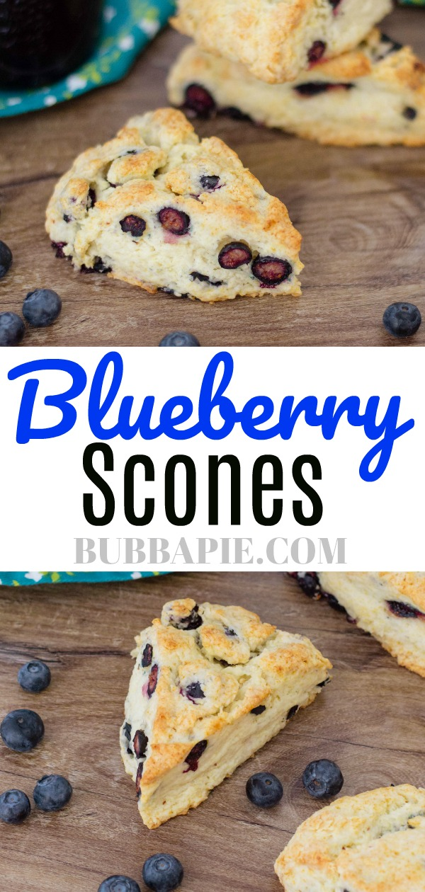 Blueberry Scones Pin