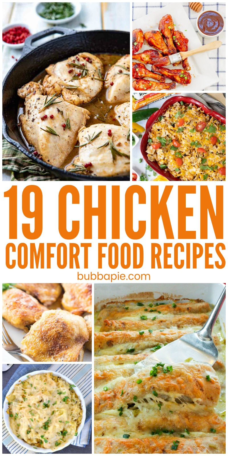 19 Chicken Comfort Food Recipes