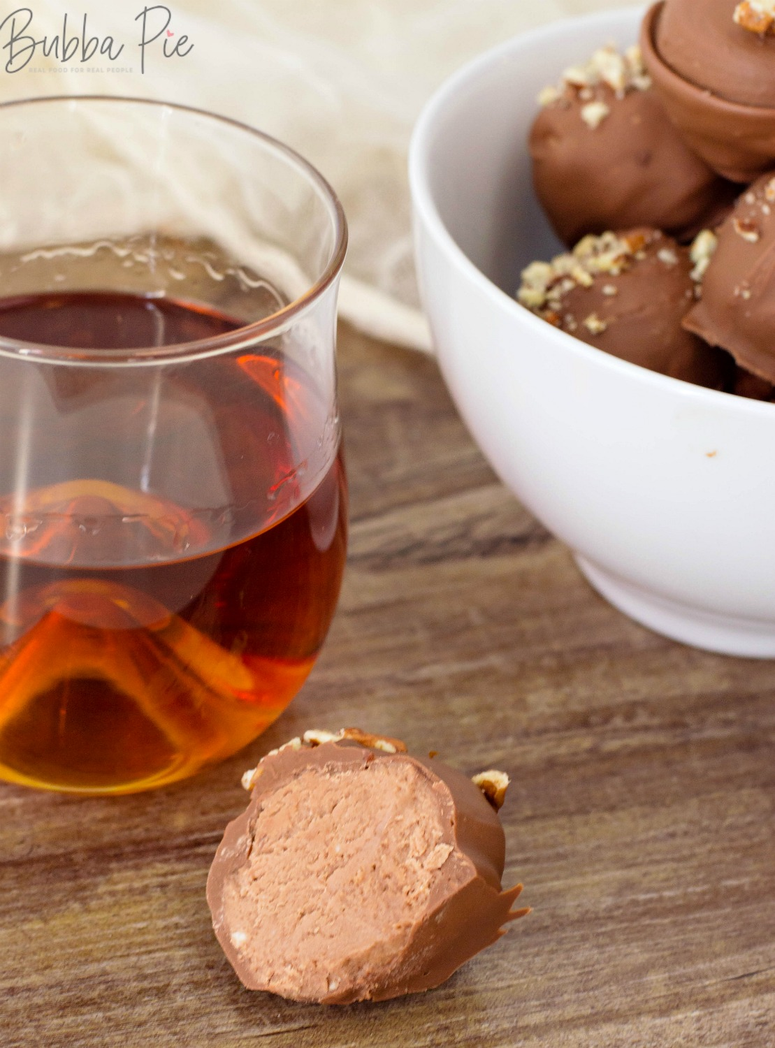 Bourbon Balls can be made with whisky too!
