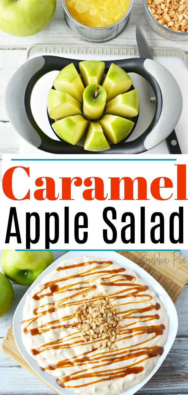 Caramel Apple Salad Pin