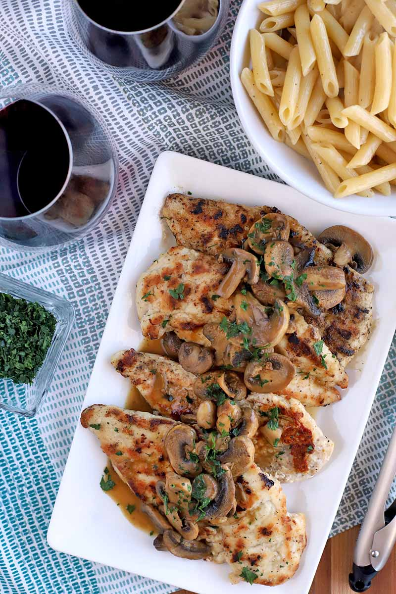 Chicken Recipes can make great comfort food, especially this Chicken marsala