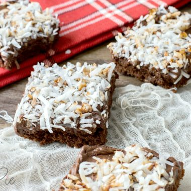 Chocolate Coconut Brownies