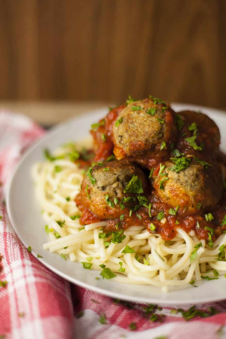 meatballs made with eggplant is one of our Easy Comfort Food Recipes