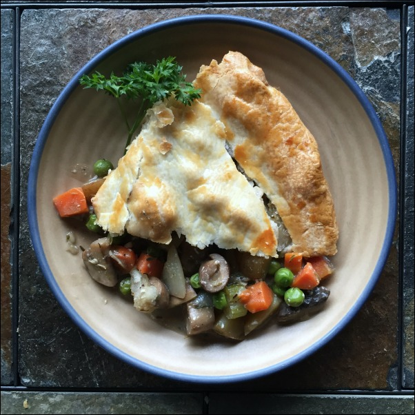 Meatless Vegetarian Pot Pie is a great Easy Vegetarian Comfort Food Recipes