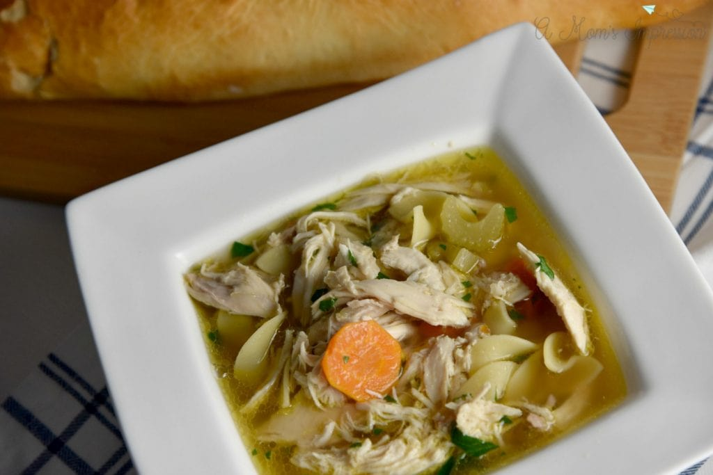 Instant Pot Chicken Noodle Soup is the perfect comfort food