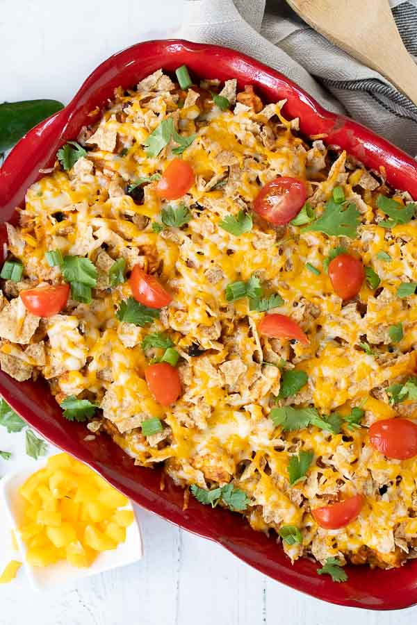 Mexican Chicken Casserole is a great southern chicken comfort food recipe