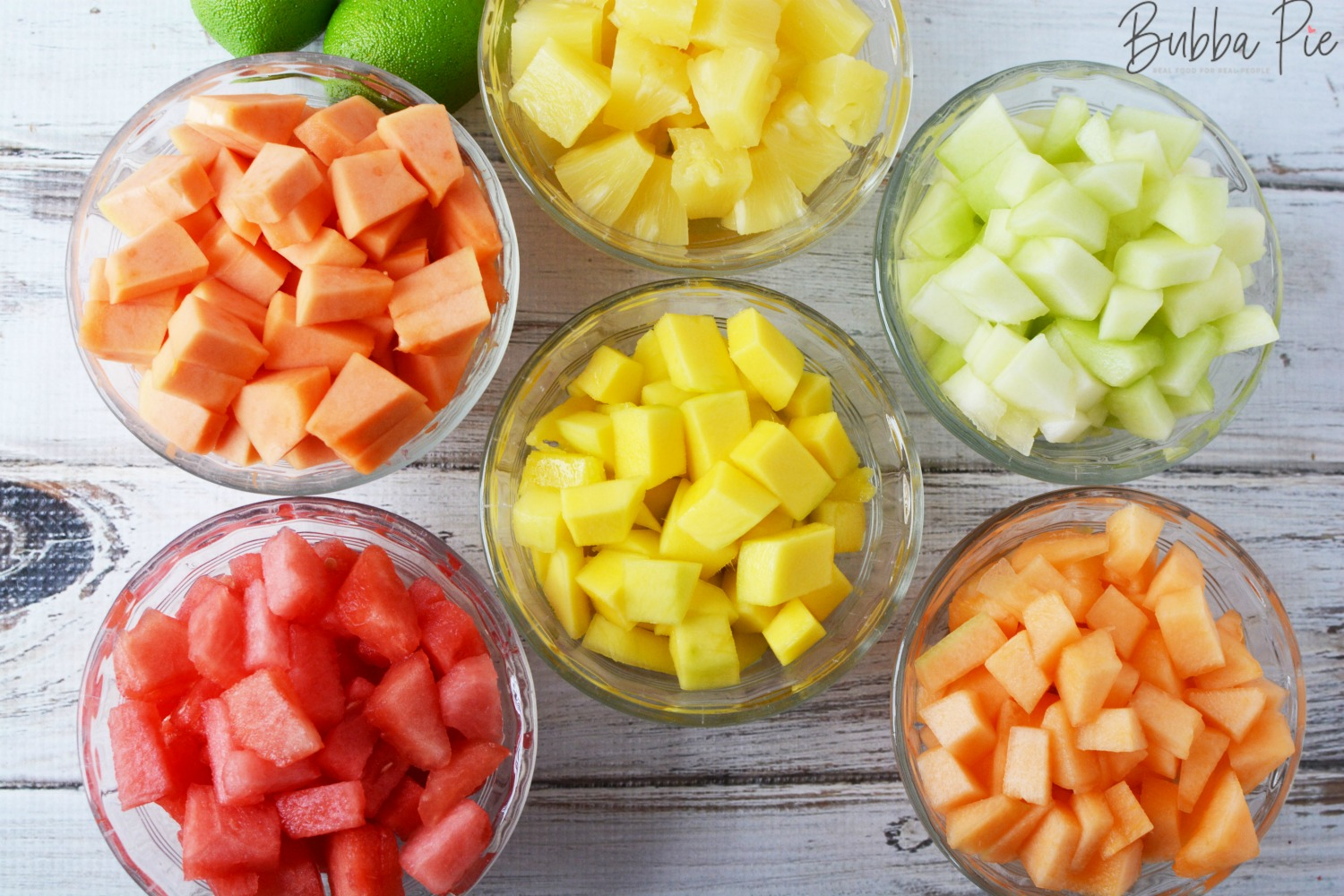 Mexican Fruit Salad Recipe has mangoes, pineapple, papaya and watermelon