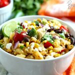 Mexican Street Corn Salad is a great idea for your Cinco De Mayo Party