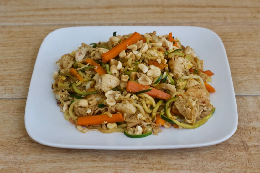 low carb pad thai is a great comfort food recipe