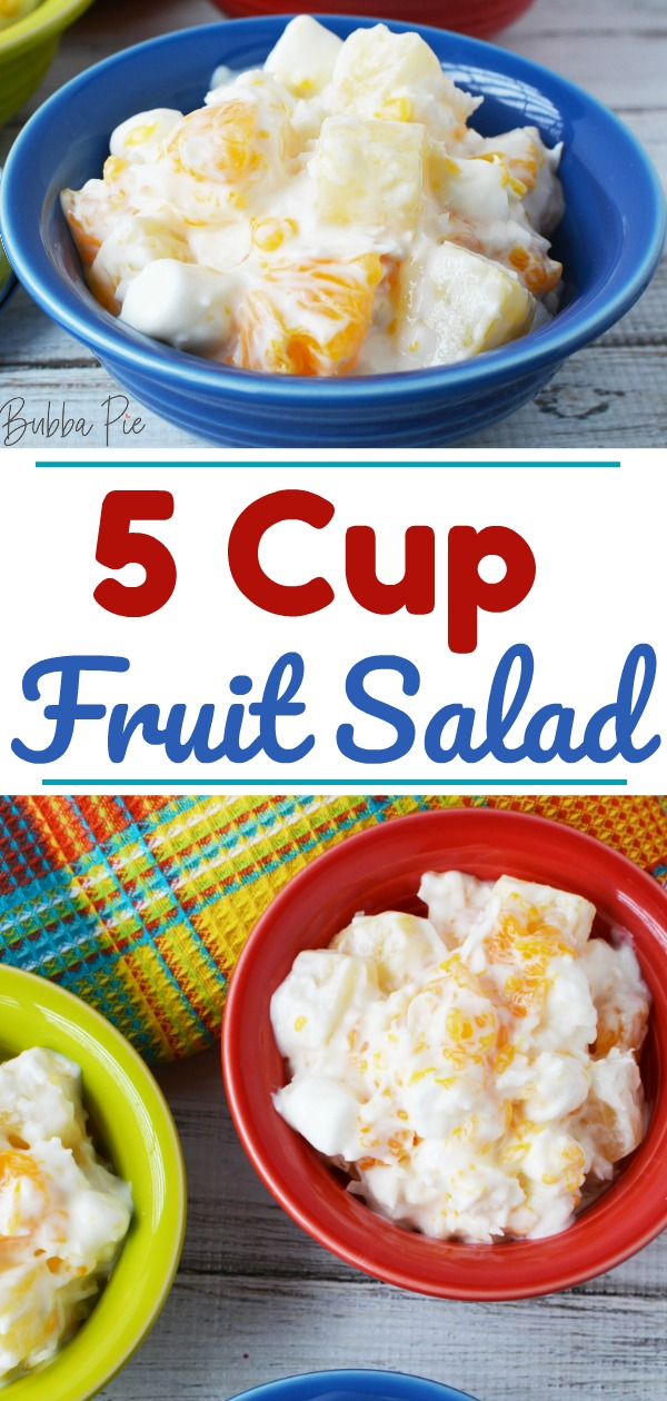 5 cup salad pin