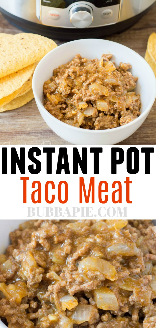 Instant Pot Taco Meat Pin