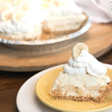 No Bake Banana Cream Pie Recipe