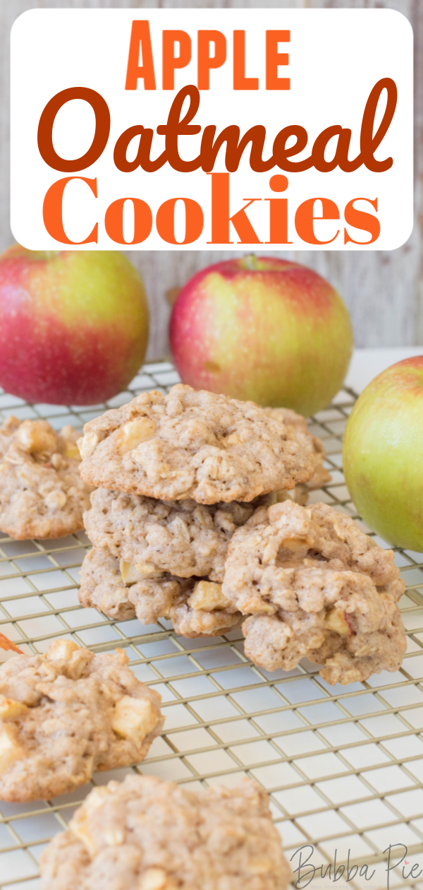 Apple Oatmeal Cookie Pin