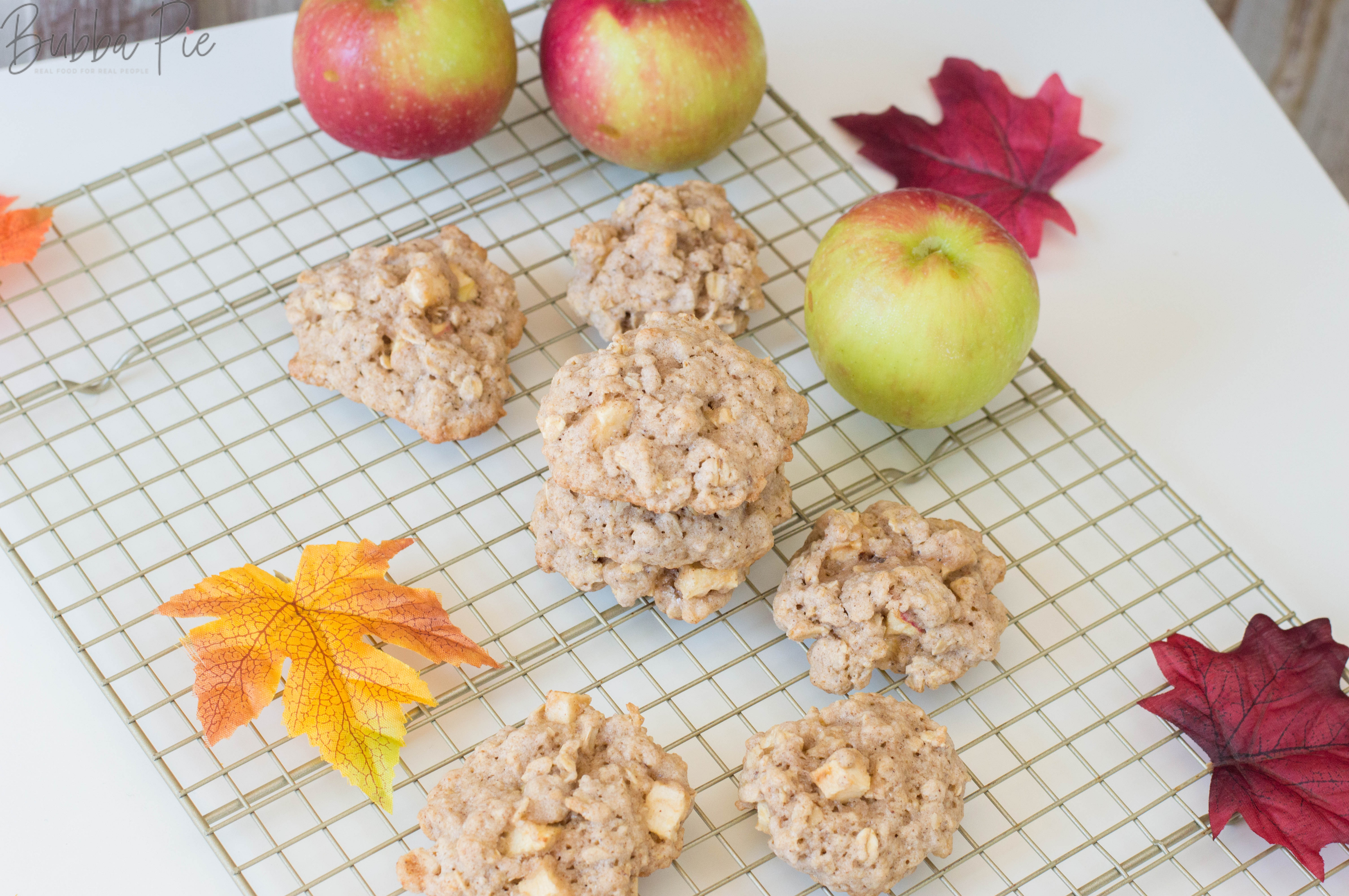 Apple Oatmeal Cookies Recipe is the perfect fall recipe