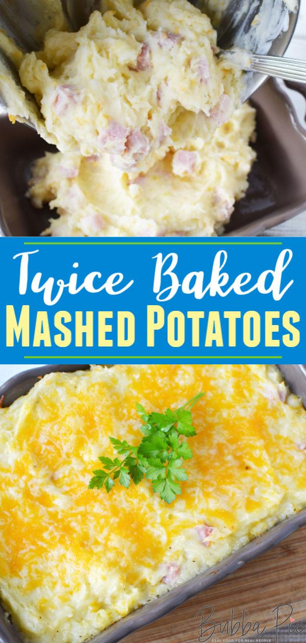 Twice baked potatoes pin
