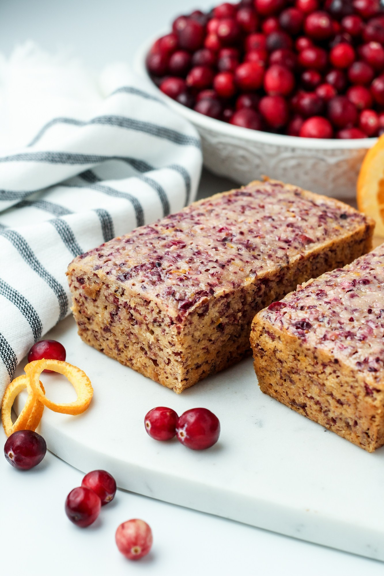 cranberry orange bread can also be a great thanksgiving side dish