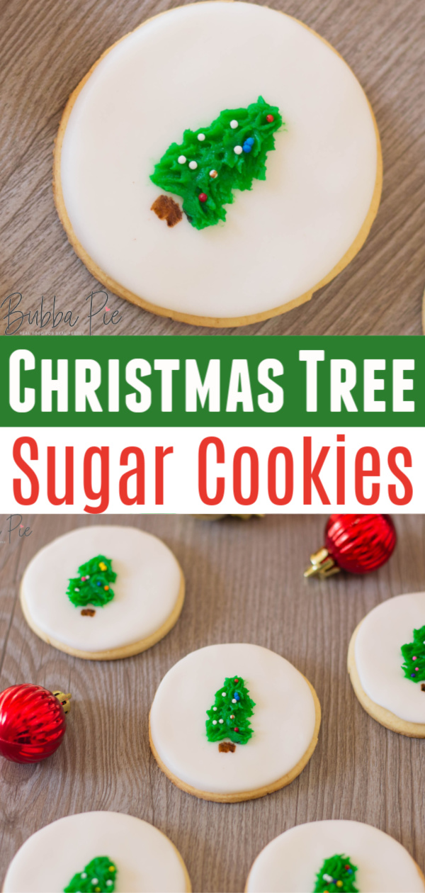 Christmas Tree Sugar Cookies Pin