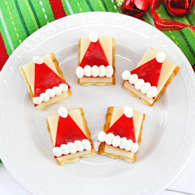 Santa Hat Appetizer