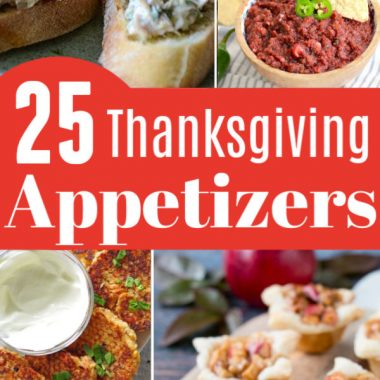 25 Thanksgiving Appetizers
