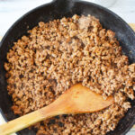 Browning Ground Beef For Crockpot Mexican Casserole
