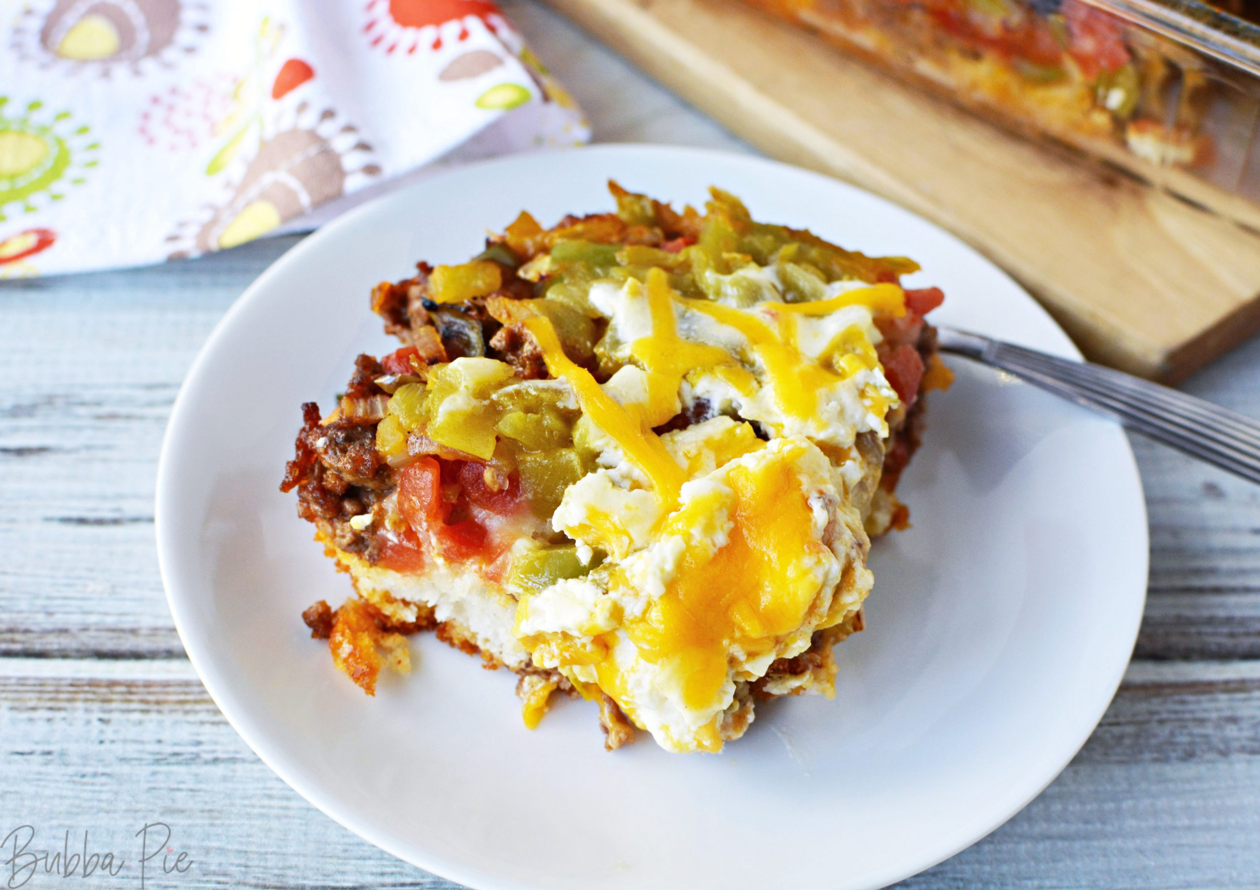 Easy John Wayne Casserole is a great recipe for a crowd