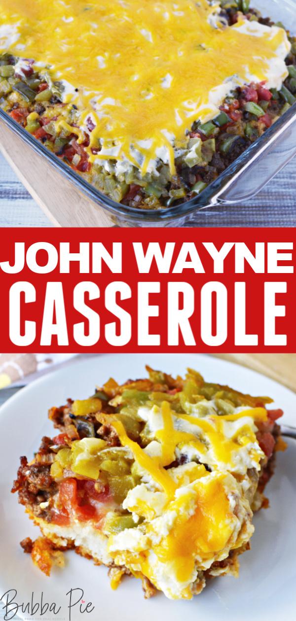 John Wayne Casserole Pin 1