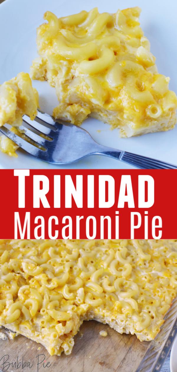 Trinidad Macaroni Pie Pin