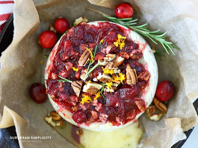 Baked Cranberry Brie