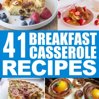 Breakfast Casserole Roundup Pin