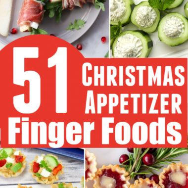 51 Easy Christmas Appetizers Finger Foods