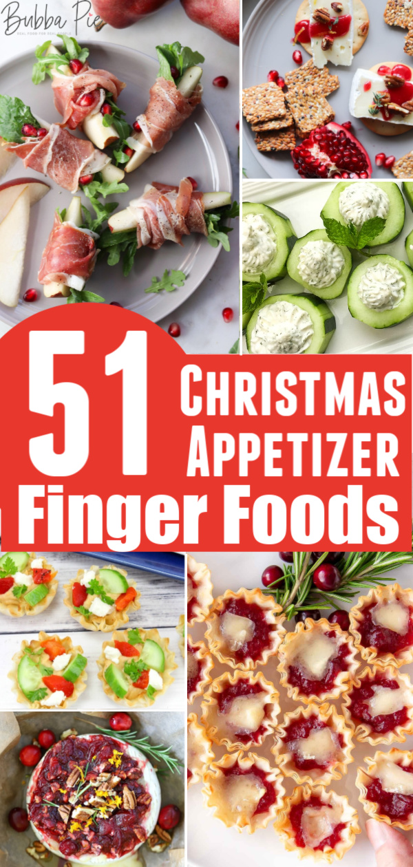 Easy Christmas Appetizers Finger Foods