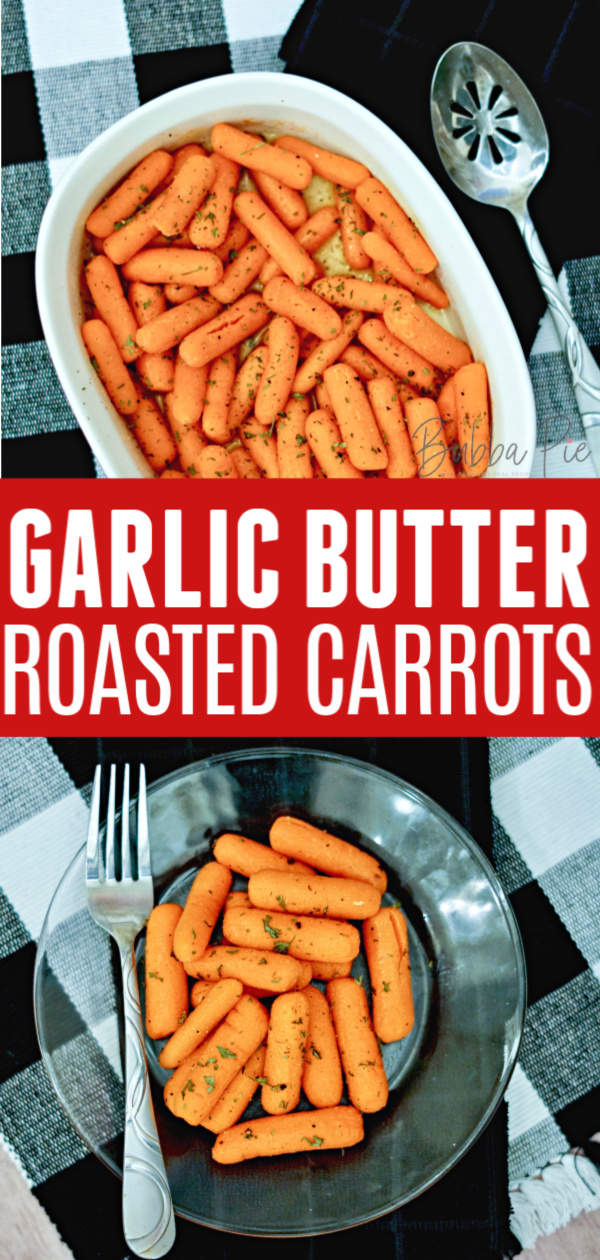 Garlic Butter Carrots Pin