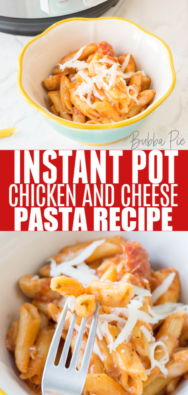 IP Chicken and Cheese Pasta Pin
