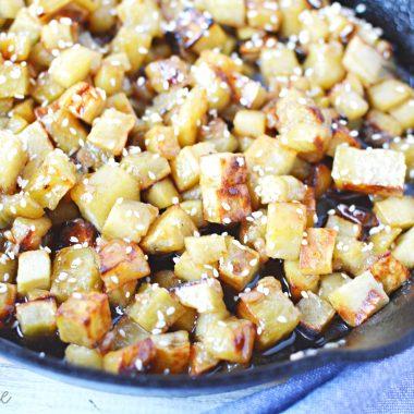 Korean Sweet Potato Recipe