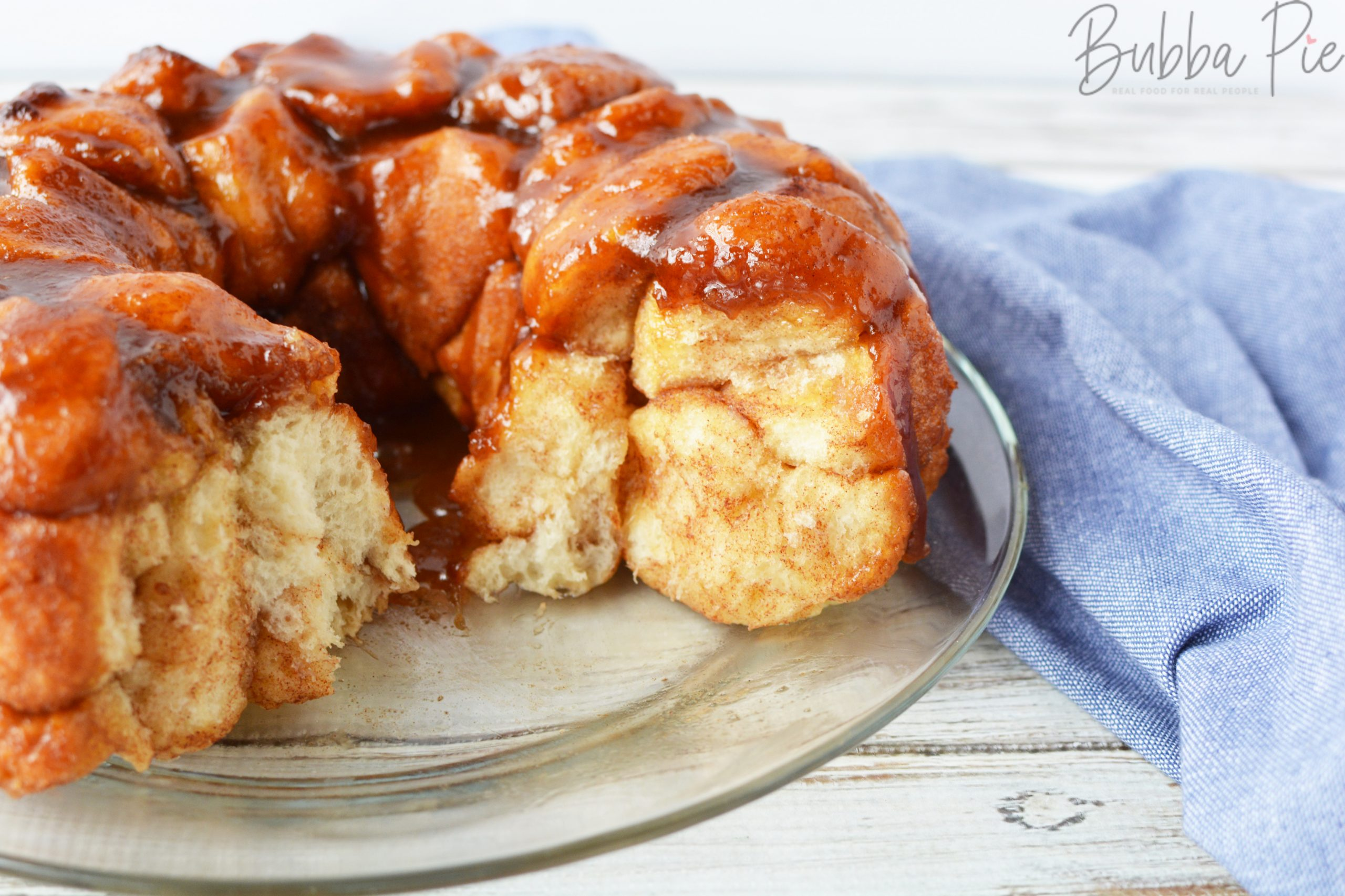 Rhodes Rolls Monkey Bread Recipe has frozen dough, sugar, brown sugar and butter