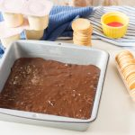 Make Brownie mix for pudding parfait