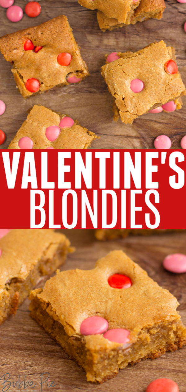 Valentine's Blondies Pin