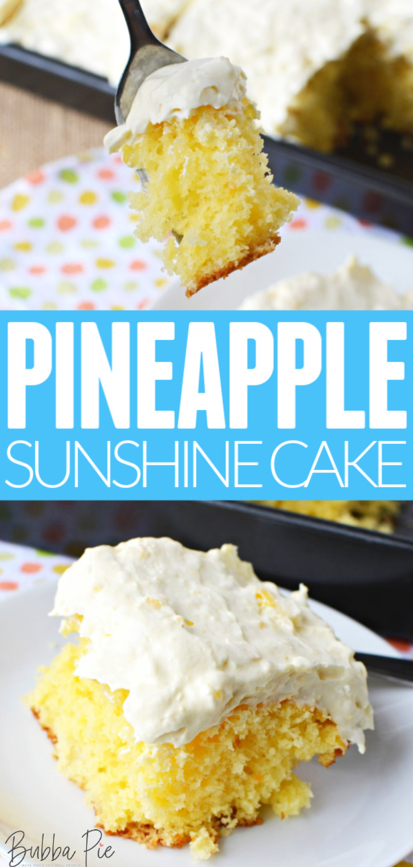 Pineapple Sunshine Cake Pin 1