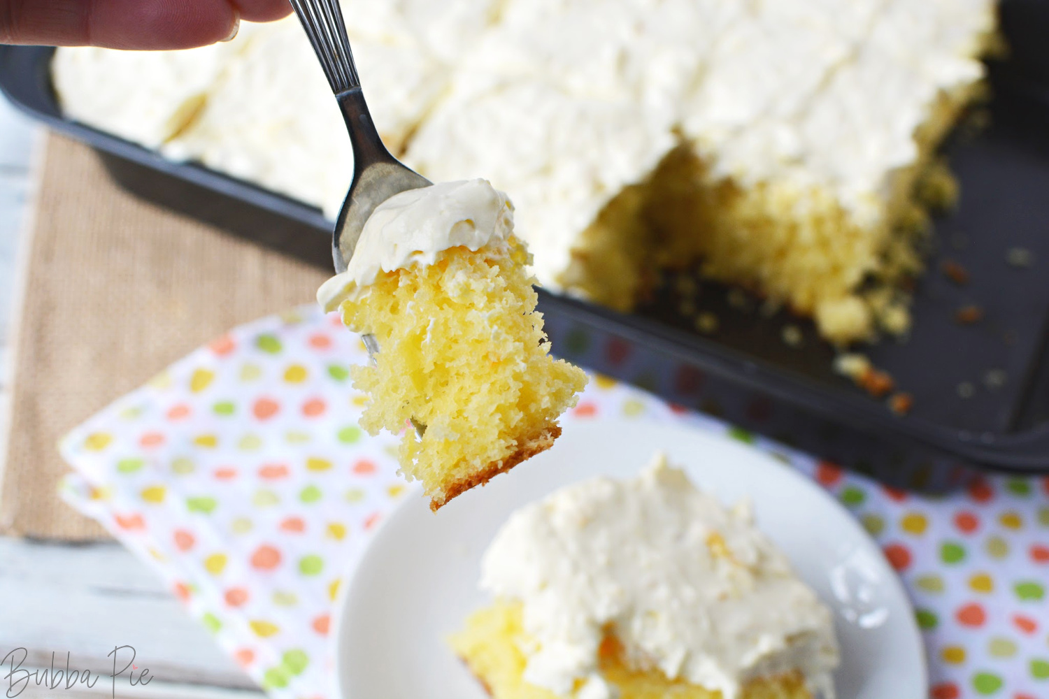 Pineapple Sunshine Cake