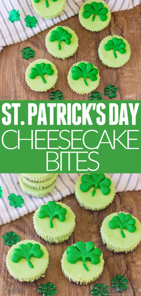 St. Patricks Day Cheesecake Pin 1