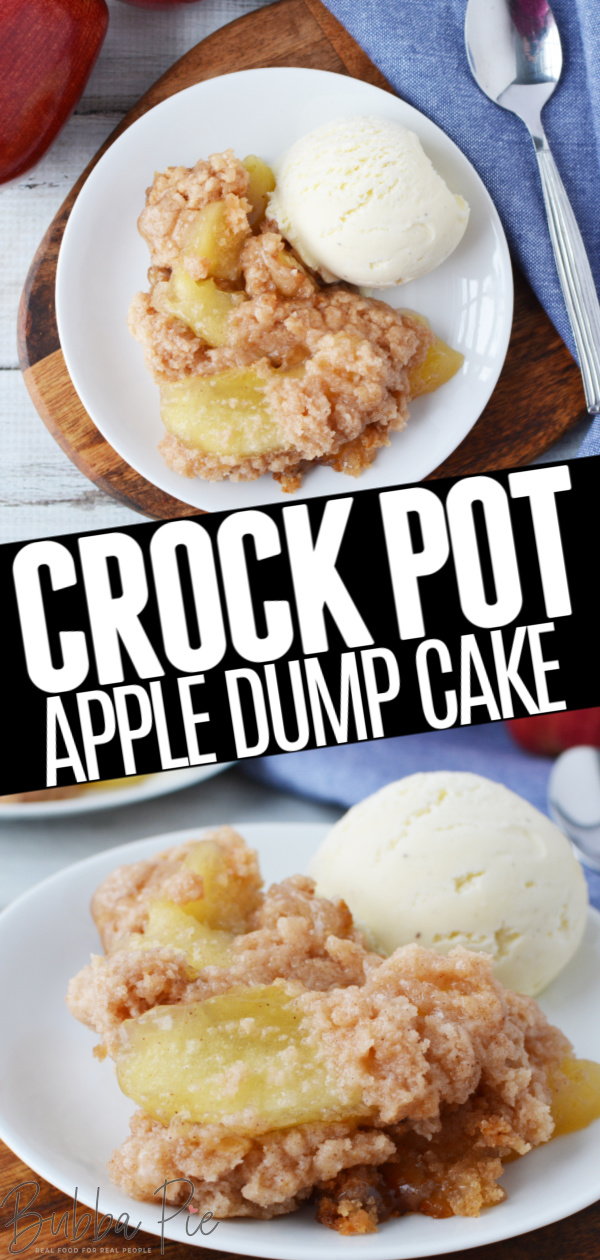 Crockpot Apple Dump Cake Pin 1