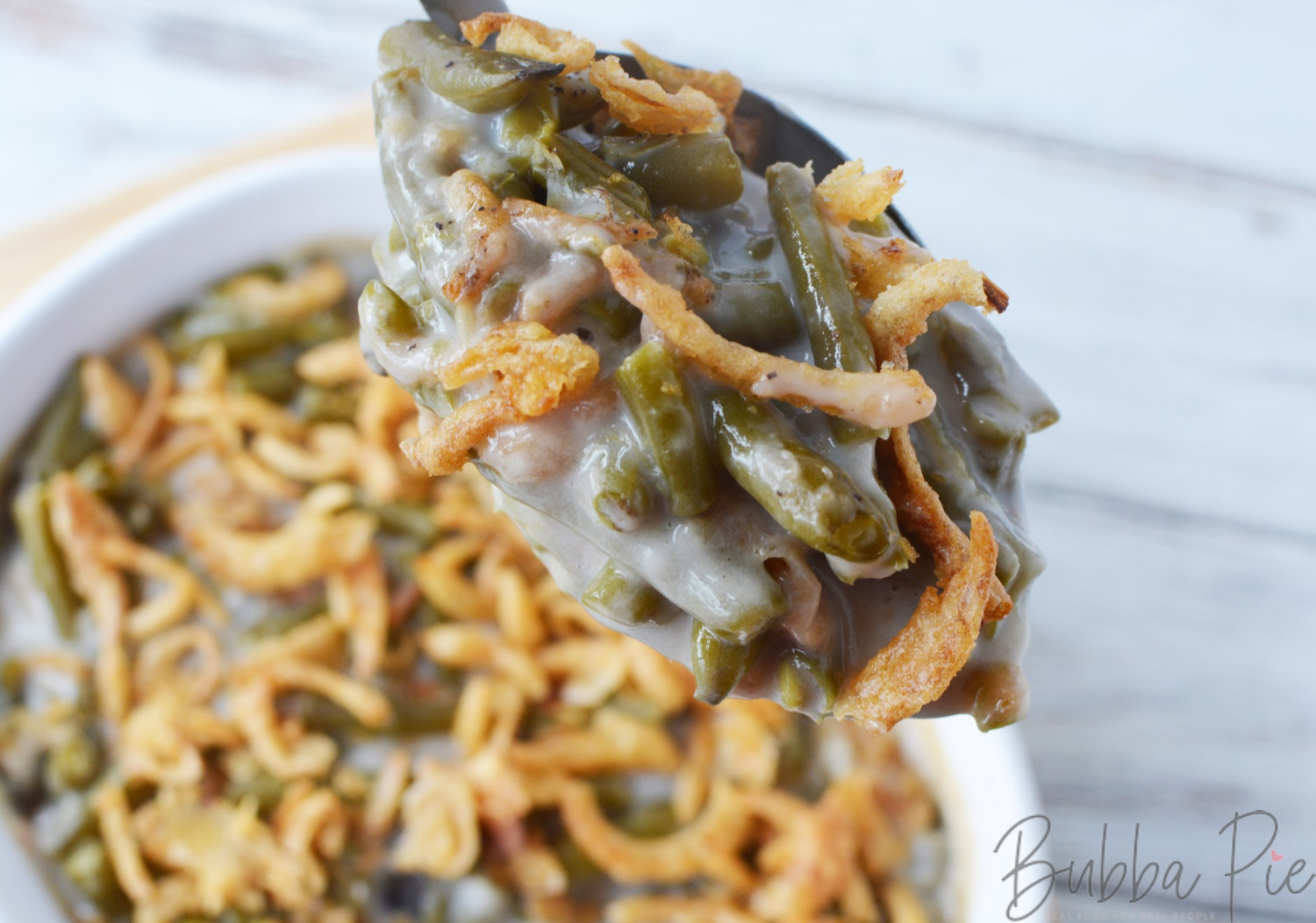 Easy Campbell's Green Bean Casserole
