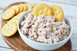 Ham Salad Dip is a great recipe for leftover ham