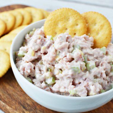 Easy Ham Salad Dip Recipe