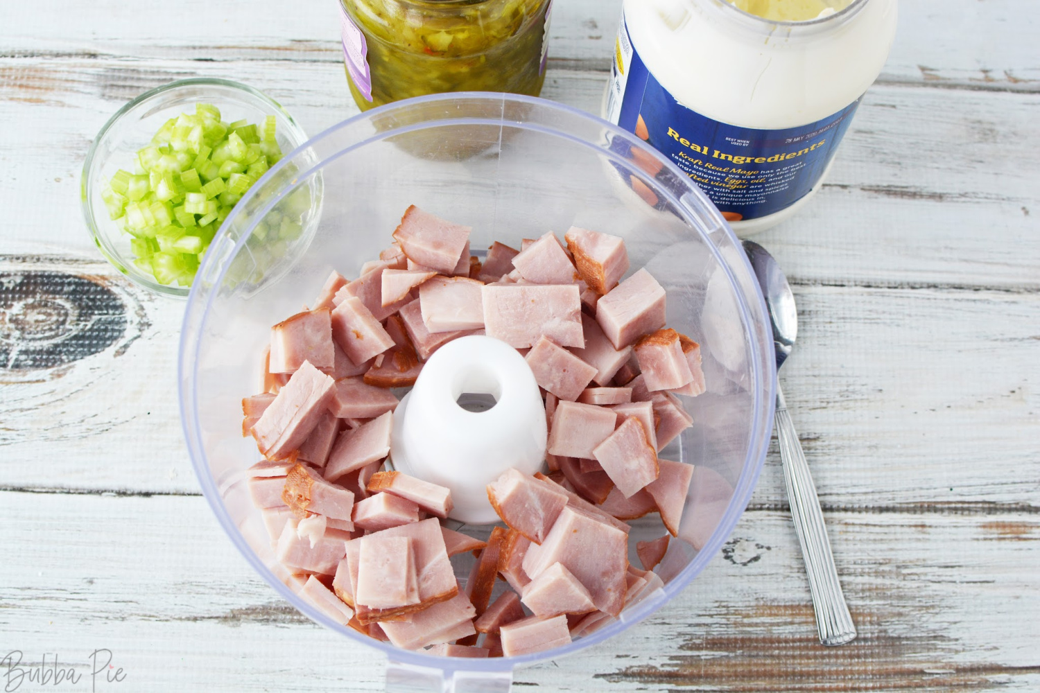 Ham Salad Dip Ingredients